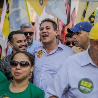Em caminhada na zona Sul da capital, Maurão de Carvalho afirma que vai trabalhar em parceria com a Prefeitura