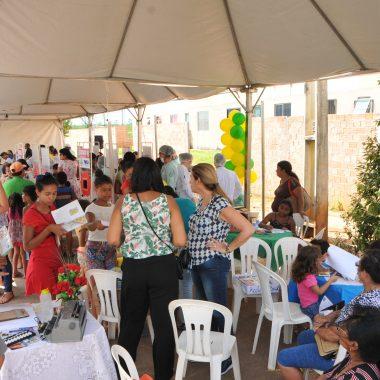 AÇÃO SOCIAL – Moradores do Orgulho do Madeira recebem atendimento neste sábado (15)