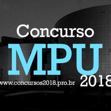 Inscrições para o concurso do MPU acabam nesta segunda (10/9)