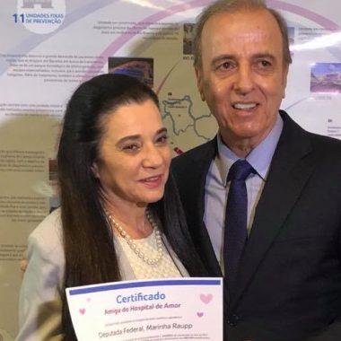 ELEIÇÕES – Marinha Raupp explora Hospital do Câncer em horário eleitoral