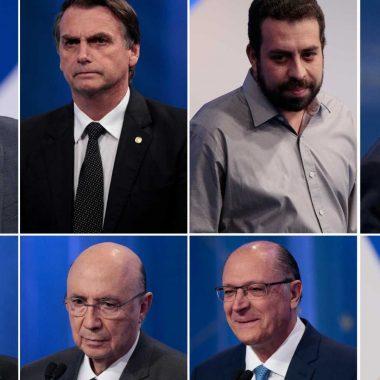 Quais os times do coração dos candidatos à Presidência do Brasil?