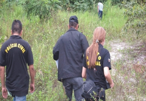 MISTÉRIO – Cadáver de filha de policial civil é encontrado em matagal