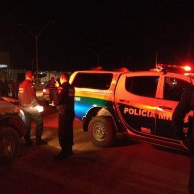 VIOLÊNCIA – Pai e filho são baleados durante tentativa de assalto
