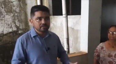 Deputado Jesuíno vistoria local que pode servir como extensão para o pronto socorro JP II-VÍDEO
