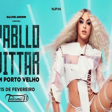 SUCESSO – Pablo Vittar faz show na Talismã 21 em fevereiro