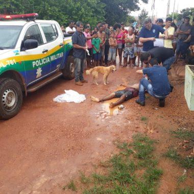 R$ 50 – Jovem é executado com vários tiros