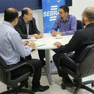 Deputado Anderson discute com o Sebrae/RO ações para fortalecer os Pequenos Negócios