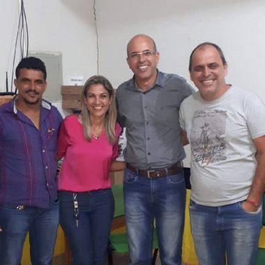 Ismael Crispin visita municípios de Alvorada do Oeste e Urupá e promete apoio