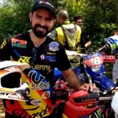 Piloto de Enduro Off Road sofre acidente durante trilha em Porto Velho