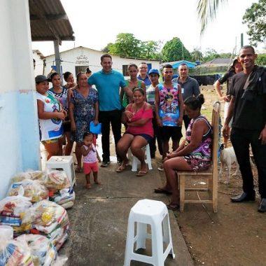 Deputado Eyder Brasil realiza ação social no distrito de São Carlos