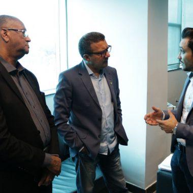 Alex Silva se reúne com secretário de Estado, define apoio e faz pedidos
