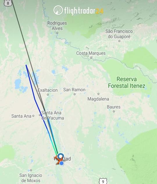 Avião com vereadores, deputados e senadores que seguia à Ji-Paraná sofre pane; há feridos