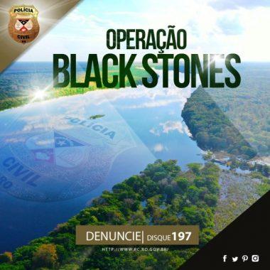 """Polícia Civil deflagra operação """"Black Stones"""" na região de São Francisco do Guaporé"""