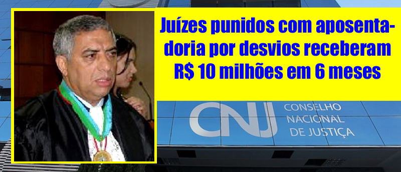 """Magistrado de Rondônia afastado pelo CNJ recebeu R$ 415.972,81 e diz """"fui vítima do CNJ"""""""