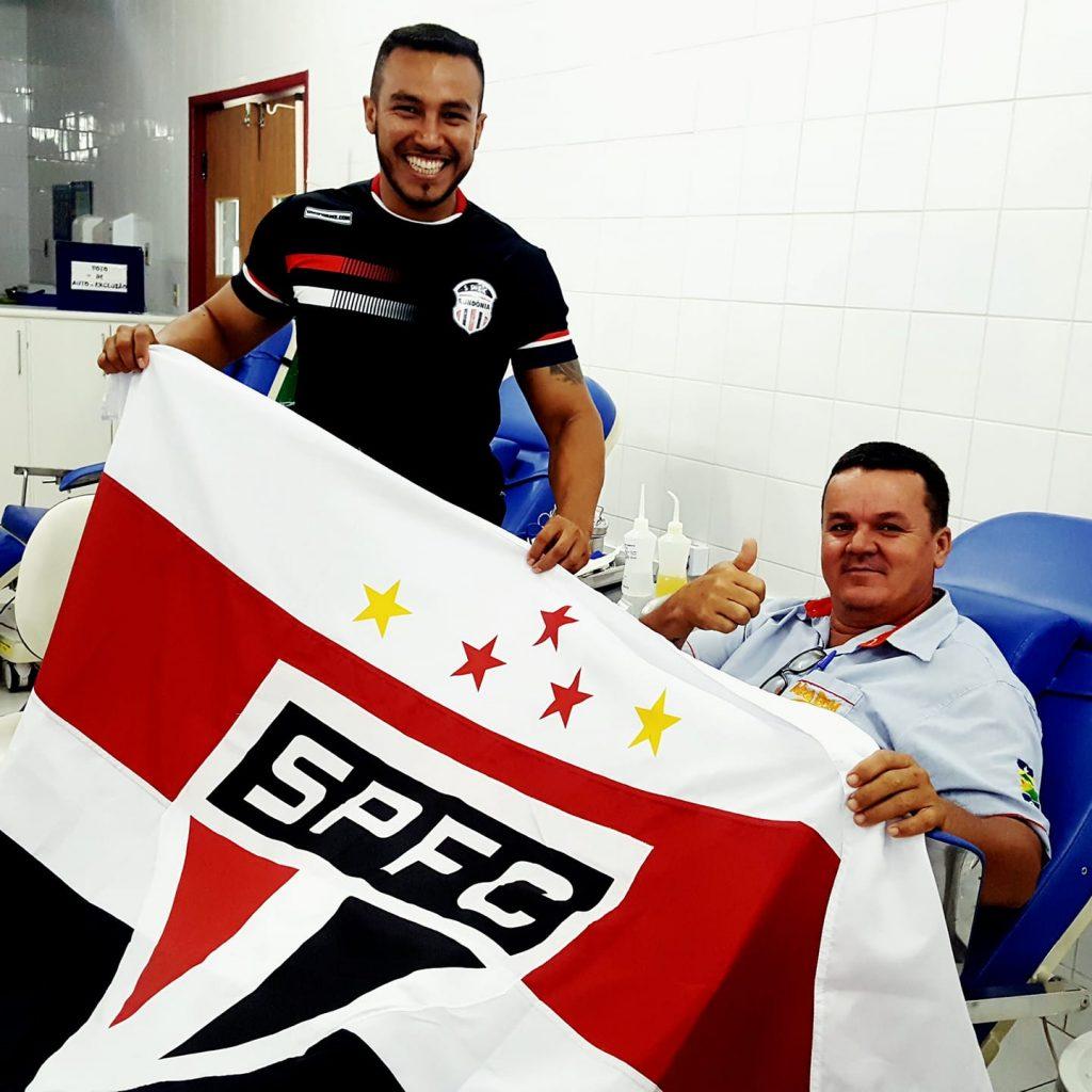 Campanha Sangue Vermelho, Branco e Preto convocam são paulinos para doarem sangue neste sábado