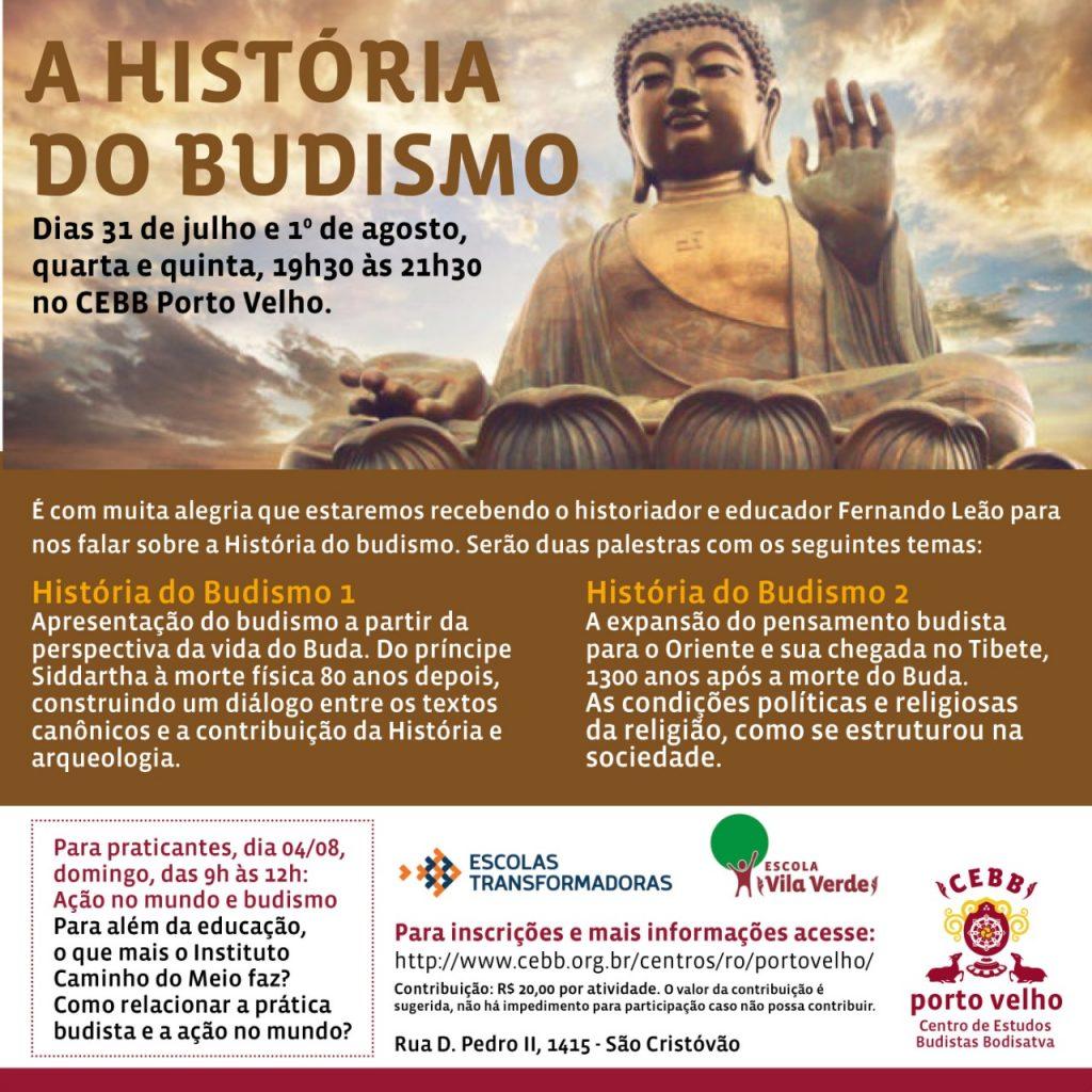 Cebb-PVH realiza palestra sobre história do Budismo