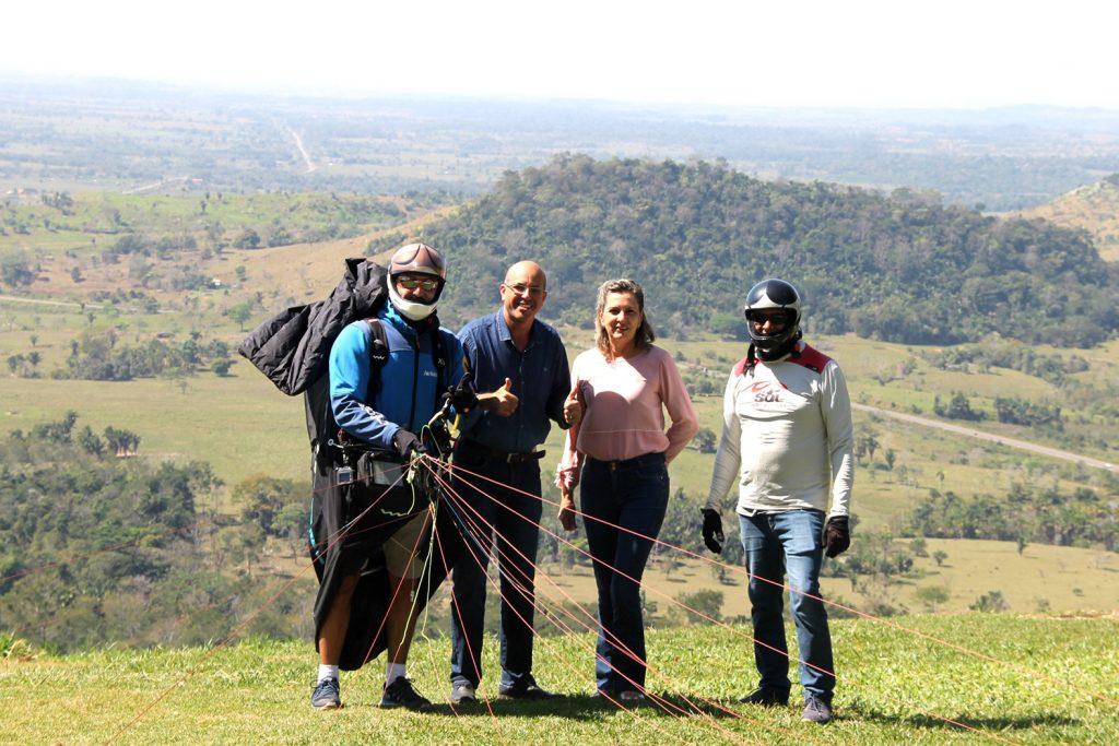 Deputado Ismael Crispin destaca o clube de voo livre de Ouro Preto no contexto turístico de Rondônia