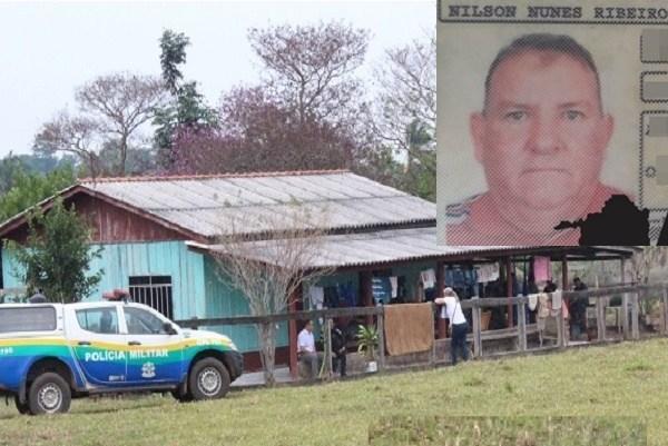 Agricultor é morto dentro de casa com tiros à queima roupa