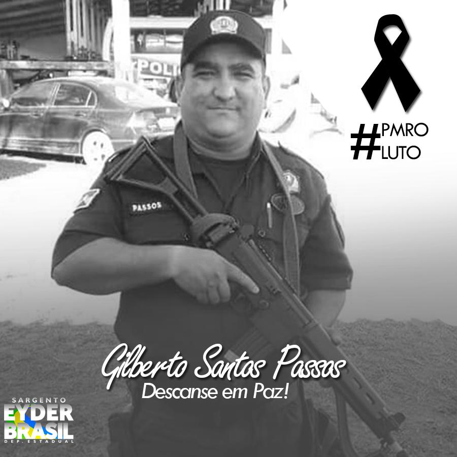 Deputado Eyder Brasil lamenta morte do Policial Militar em Vilhena