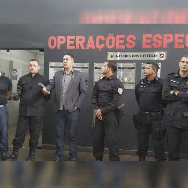 Deputado Eyder Brasil vai destinar emenda para aquisição de 70 pistolas Glock para o Bope