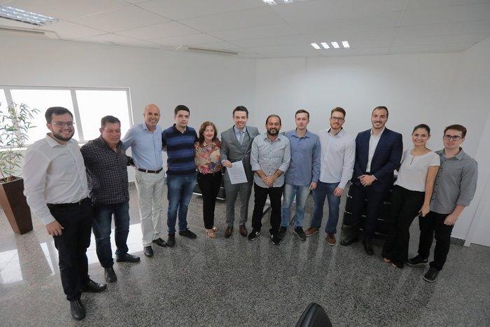 Presidente Laerte Gomes empossa novos concursados