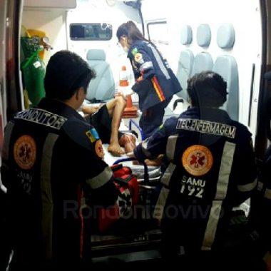 BALA PERDIDA – Adolescente é ferido no tórax dentro de casa