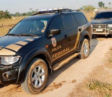 Polícia Federal cumpre mandados contra invasores na Flona Bom Futuro