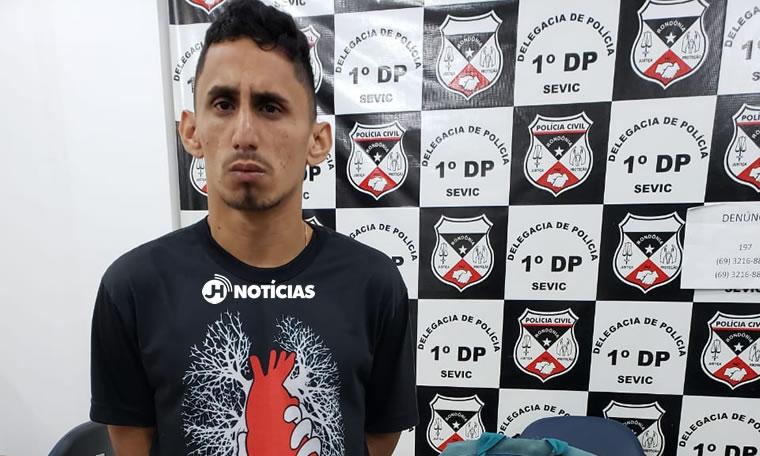 PRESO COM A MÃE – Polícia prende criminoso ligado a facção criminosa que invadiu quartel do Corpo de Bombeiros e ateou fogo viatura