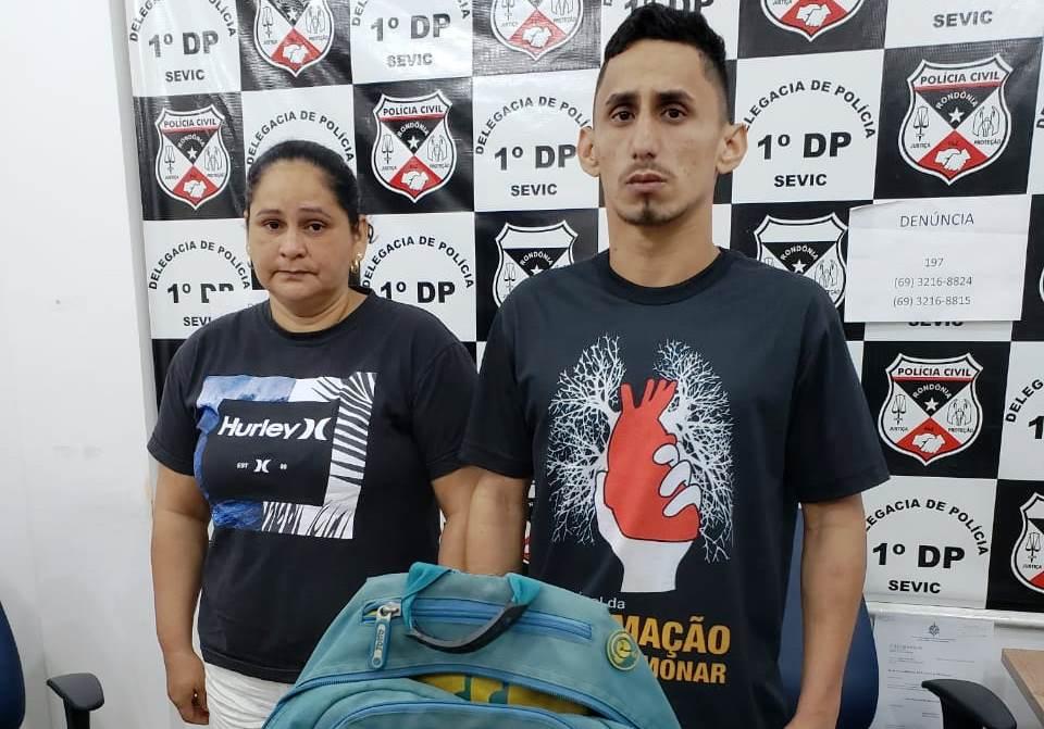 Mãe e filho ligados a facções criminosas são presos suspeitos de terem envolvimentos a ataques a carros oficiais