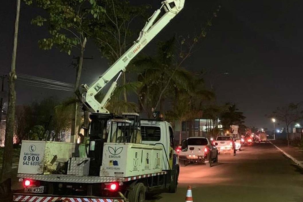 Emdur atende pedido de Anderson Pereira e revitaliza iluminação em bairros e presídio de Porto Velho