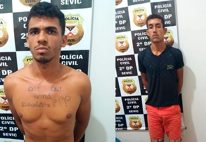 Polícia prende criminosos pouco depois de assassinato em distrito de Porto Velho