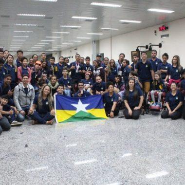 Rondônia conquista 38 medalhas em cinco modalidades nas Paralimpíadas Escolares em São Paulo
