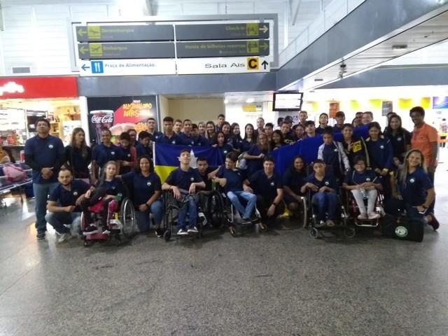 Paratletas de Rondônia participam de Paralimpíadas Escolares em SP