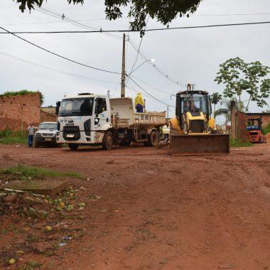 Vereador Isaque Machado tem solicitação de pavimentação atendida e obras são iniciadas