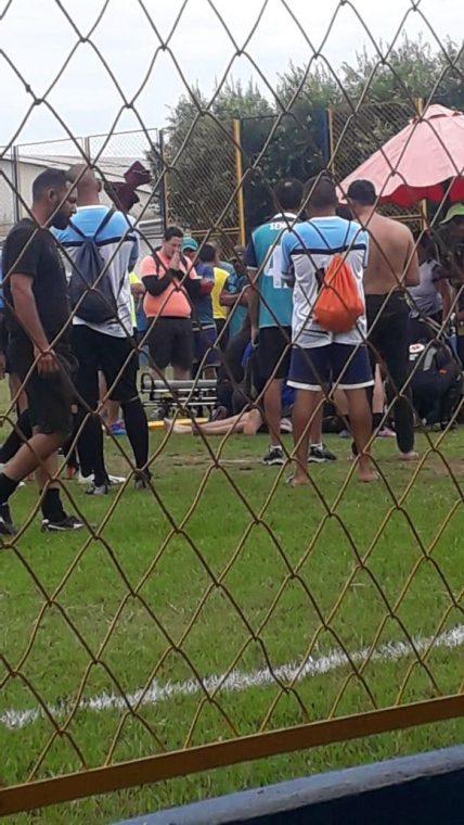 FATALIDADE – Servidor da prefeitura morre vítima de ataque fulminante durante partida de futebol