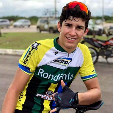 Rondoniense é campeão no ciclismo nos JEJ, em Santa Catarina