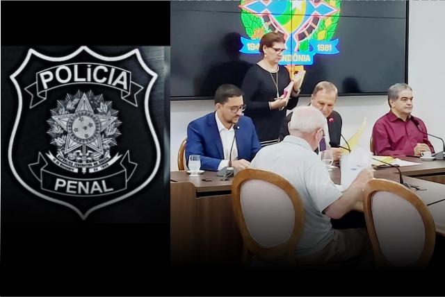 CCJ aprova relatório da PEC-005 de autoria do deputando Anderson Pereira que cria Polícia Penal no âmbito do Estado de Rondônia