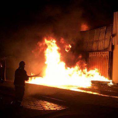 Após discussão, homem é preso suspeito de atear fogo em amigo