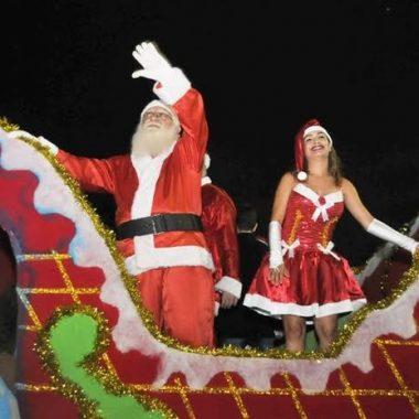 NATAL PORTO DE LUZ – Abertura será com chegada triunfal do Papai Noel no Espaço Alternativo