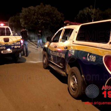 Caminhão roubado em Vilhena é recuperado pela PM em Ariquemes