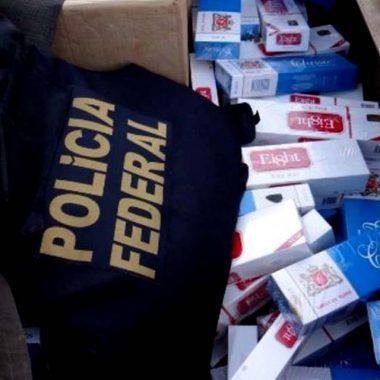 PF deflagra operação contra sonegação de impostos sobre cigarro