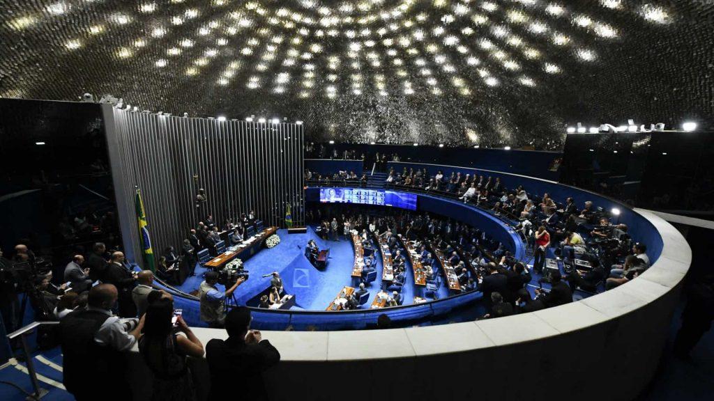Senado aprova projeto da prisão após 2ª instância por 22 votos contra 1