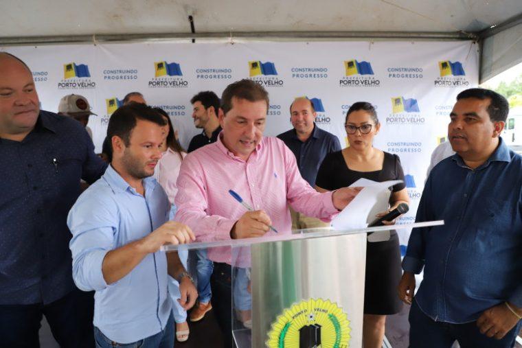 Prefeito Hildon Chaves anuncia recapeamento de 64 KM de ruas da capital