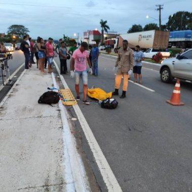 Homem morre atropelado ao atravessar BR-364 em Ji-Paraná