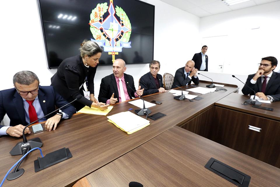 Comissão de Finanças da ALE Projeto de Lei Orçamentária Anual de 2020