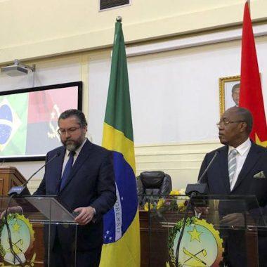 Chanceles do Brasil e de Angola assinam acordo bilateral de segurança
