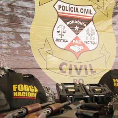 Estatísticas consideram mais de 70% de elucidação dos crimes de homicídios em Rondônia