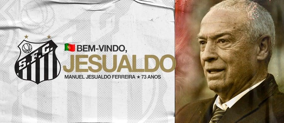 Técnico português Jesualdo Ferreira assume o Santos