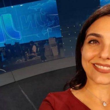 Jornalista Ana Lídia de Rondônia voltará a bancada do Jornal Nacional
