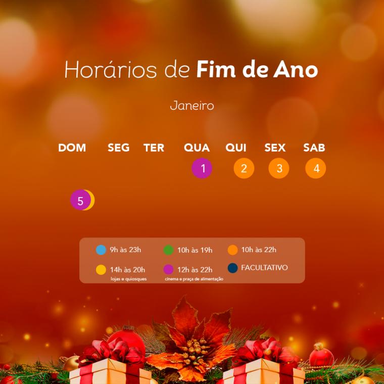 Porto Velho Shopping tem horário de funcionamento diferente neste fim de ano